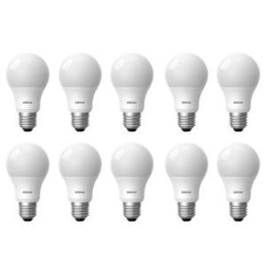 Kit Com 10 Lâmpadas de Led A40 7W 610 Lumens 5000K Base E27 Cor: Branca - Osram por R$ 70