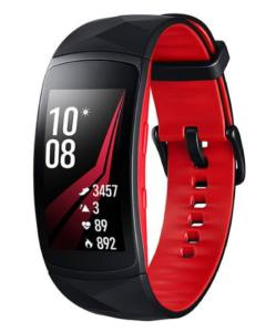 Gear Fit2 Pro Preto/ Vermelho Pulseira G Samsung - R$699,99