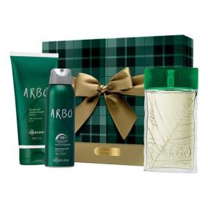 Kit presente Boticário Arbo  - R$ 109