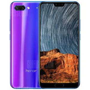 HUAWEI Honor 10 4GB RAM 128GB ROM 20.0MP + 16.0MP - R$1495