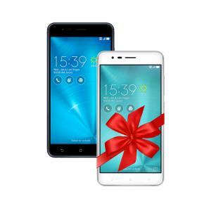 Zenfone Zoom S 4GB/64GB Preto + Zenfone Zoom S 3GB/32GB Prata por R$ 1799