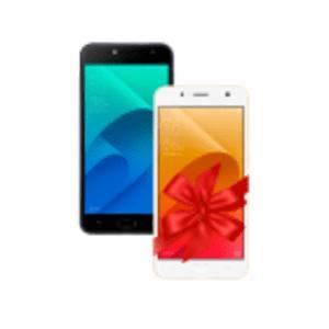 Zenfone Selfie 2GB/16GB Preto + Zenfone Selfie 2GB/16GB Dourado - R$ 944,10