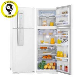 Refrigerador | Geladeira Electrolux Frost Free 2 Portas com Controle de Temperatura Blue Touch 382 Litros Branco - DF42