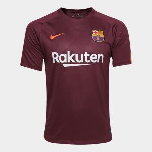 Camisa Barcelona Third - Torcedor Nike Masculina - Vinho