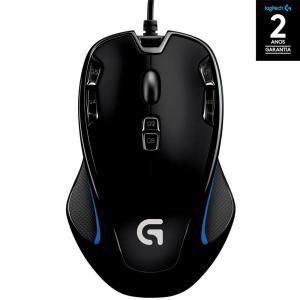 [App Sou Barato] Mouse Gamer G300s 2.500 DPI PC - Logitech  - R$54