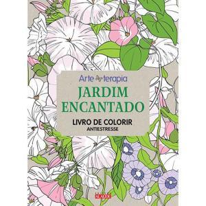 Livro para Colorir Adulto - Jardim Encantado 1ª Edição 5,00