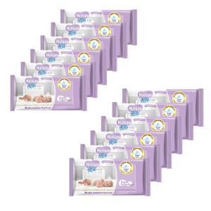 576  Lenços Umedecidos Huggies Baby Wipes Lavanda - R$50