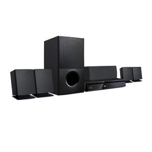 Home Theater LG Com DVD Full HD LHD625 5.1 Canais 1000W - R$ 699