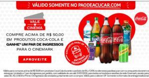 (SP) Compre Acima De R$ 50,00 Em Produtos Coca-Cola E Ganhe Um Par De Ingressos Para O Cinemark