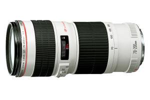 Lente CANON EF 70-200mm f/4L USM - R$2080