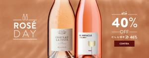 Rosé Day Divvino: até 40% OFF em frisantes, espumantes e vinhos