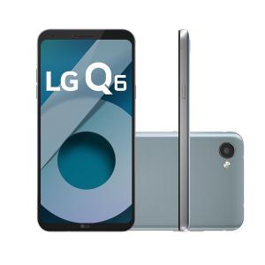 "Smartphone LG Q6 Dual Chip Android 7.0 Tela 5.5"" Full Hd+ Octacore 32GB 4G Câmera 13MP - Platinum. R$ 699,00"