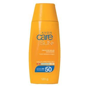 Protetor Solar Toque Seco Avon Care Sun+ FPS 50 120g - R$19,79