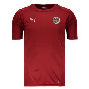 Camisa Puma Áustria Treino 2018 - R$111