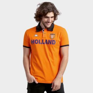 Polo Kappa Holanda Bravas Laranja - R$36