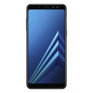 Smartphone Samsung Galaxy A8 Preto - Dual Chip, Tela 5.6 , Câmera 16MP + Câmera Frontal Dupla 16MP+8MP Flash LED, OctaCore, 64GB, 4GB RAM,Android 7.1