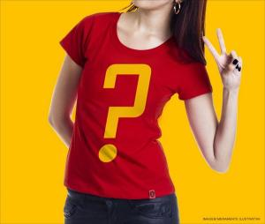 Camiseta surpresa feminina a partir de R$26,10 na REDBUG