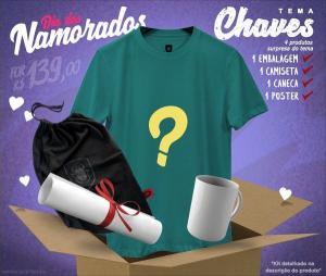 Kits temáticos para namorado (4 itens) por R$139 na REDBUG (até 12/06)