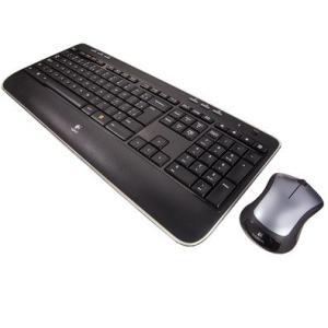Teclado e Mouse Logitech MK520 Sem fio Multimídia Tecnologia Unifying, Incurve Keys, ABNT 2 - R$148
