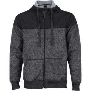 Jaqueta de Moletom com Capuz Oxer Bicolor Confort - Masculina - R$72