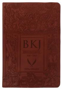 Bíblia King James Fiel 1611 - Ultra Gigante - Capa Luxo Marrom-visacheckout