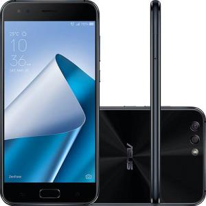 "Smartphone Asus Zenfone 4 4GB Memória Ram Dual Chip Android Tela 5.5"" Snapdragon 64GB por R$ 1299"