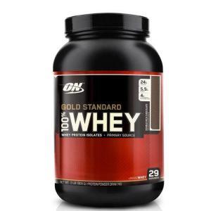 Whey Protein Gold Standard 100% Rich Chocolate - Optimum Nutrition R$126