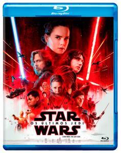Blu-Ray Star Wars - Episódio VIII - Os Últimos Jedi - R$22