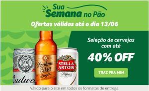 Seleção de cervejas com até 40%