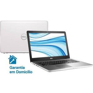 "Notebook Dell Inspiron i15-5567-D30B Intel Core i5 8GB (AMD Radeon R7 M445 de 2GB) 1TB Tela LED 15.6"" Linux - Branco   R$ 2299"