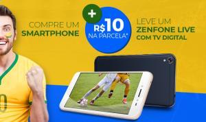 Compre um Asus Zenfone e por mais R$10 na parcela leve o Zenfone Live TV