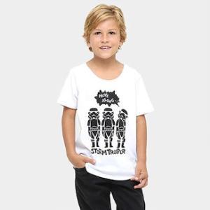 Leve 3 camisetas infantis Disney, pague 2
