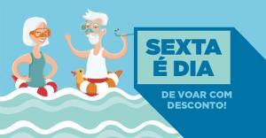 10% OFF em voos para Fortaleza, Cuiabá e San Andres