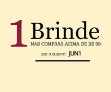Ganhe 1 brinde em compras acima de R$99 nas Lojas Rede