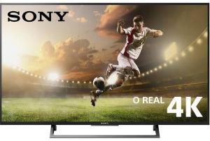 "Smart TV LED 55"" HDR Ultra HD 4K Sony KD-55X705E BR6 com YouTube integrado, HDMI e USB"