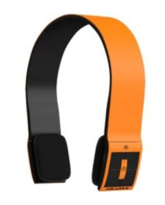 Headphone Aquarius Laranja Bluetooth Com Microfone R$49