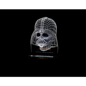 Luminária Acrílico Star Wars Darth Vader - R$55