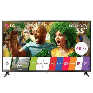 "Smart TV LED 55"" Ultra HD 4K LG 55UJ6300 com Sistema WebOS 3.5, Wi-Fi, Painel IPS, HDR - R$ 2913"