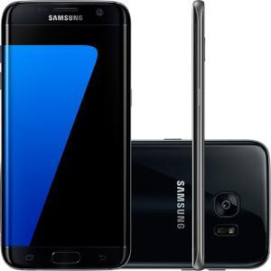 "Smartphone Samsung Galaxy S7 Edge Tela 5.5"" 32GB 4G Câmera 12MP - R$ 1605"