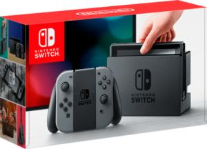 Console Nintendo Switch 32GB - JoyCon Cinza - R$ 1583