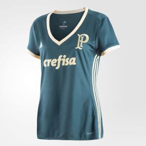 Camisa Palmeiras III Feminina Adidas - R$149,99
