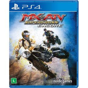 Game - Mx Vs Atv Supercross Encore - PS4 R$99