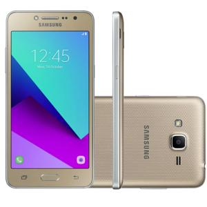 Smartphone Samsung Galaxy J2 Prime Dourado G532 TV Dual Chip 16GB por R$ 437