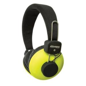 Fone Headphone C/microfone Neon Verde Ref. 6012068- Maxprint - R$18