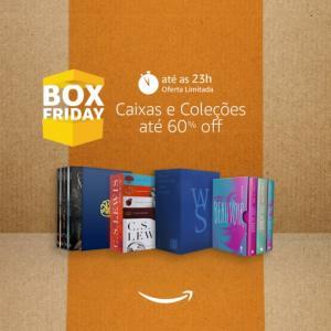 Box Friday Amazon, até 60% OFF em boxes