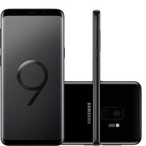 """Smartphone Samsung Galaxy S9 Preto Tela Infinita de 5,8"""" Câmera de 12MP 128GB - R$3.084"""