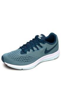 Tênis Nike Zoom Winflo 4 Feminino Azul - R$240
