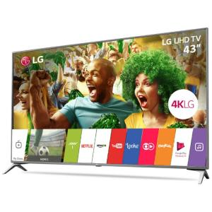 "Smart TV LG Ultra HD 43"" IPS 4K 43UJ6525 WebOS HDR Magic Mobile"