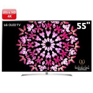 "Smart TV OLED 55"" LG OLED55B7P Ultra HD 4K 3 USB 4 HDMI Som Dolby Atmos - R$ 5500"