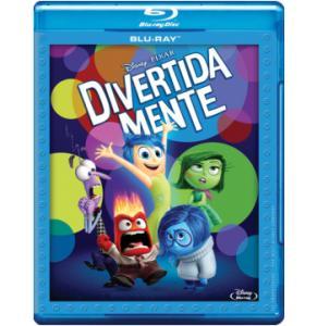 Blu-Ray Divertida Mente - R$16,90